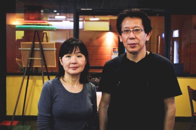 """Sung and Un """"Missy"""" Bang, owners of The Original Deli, which is slated to close at the end of the week. (Photo by Atoosa Moinzadeh)"""