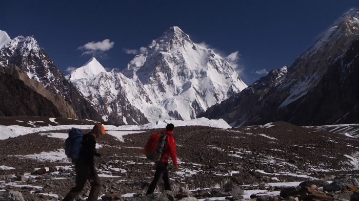 K2, located in the Karakorum range of Pakistan, is the worlds second tallest mountain at 28,253 feet. But it is often considered a higher prize than Everest due to the technical challenge and unpredictable weather patterns. (Photo courtesy of Dave Ohlson)