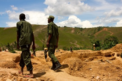 A gold mine in South Kivu, Democratic Republic of the Congo (Photo courtesy of the ENOUGH Project, via Flickr)