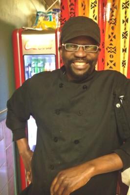Mamadou, chef and owner at La Teranga. (Photo by Reagan Jackson)