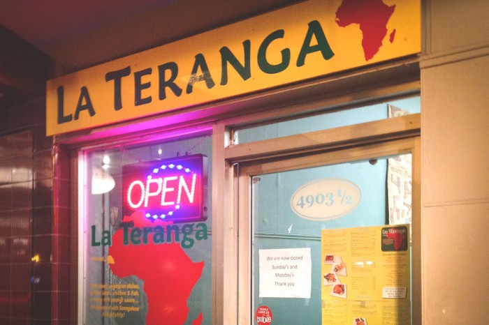 La Teranga Senegalese restaurant in Columbia City. (Photo by Reagan Jackson