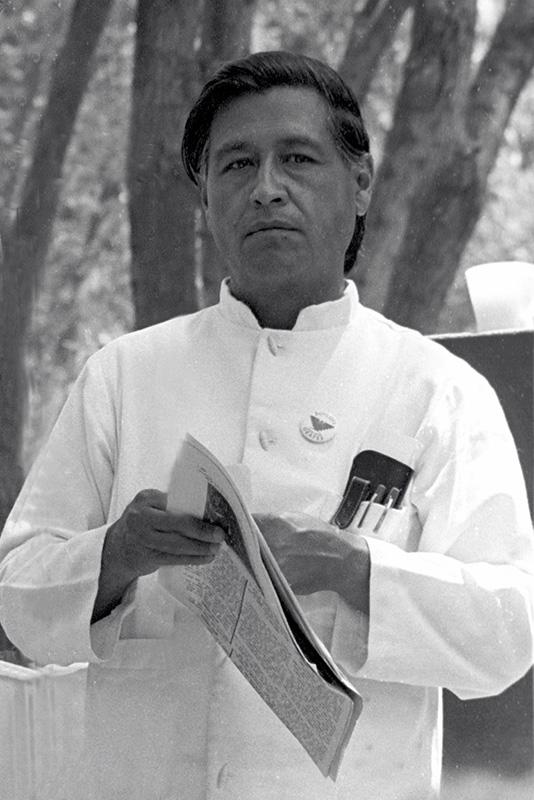 Cesar Chavez. (Photo via Wikimedia Commons)