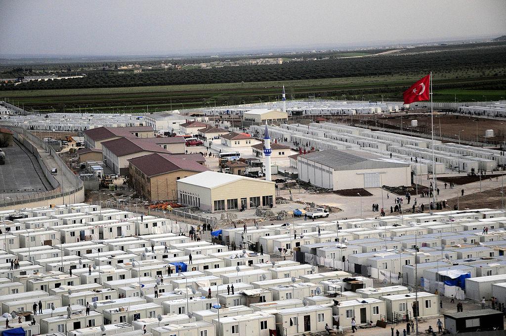 Kilis Refugee Camp. (Photo by T.C. Başbakanlık Afet ve Acil Durum Yönetimi Başkanlığı via Wikimedia Commons)