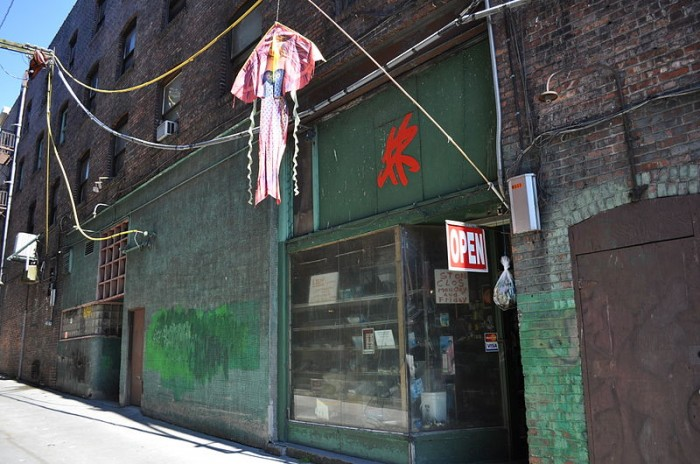 The site of the Wah Mee massacre, on Maynard Alley in the International District. (Photo by Joe Mabel via Wikipedia)