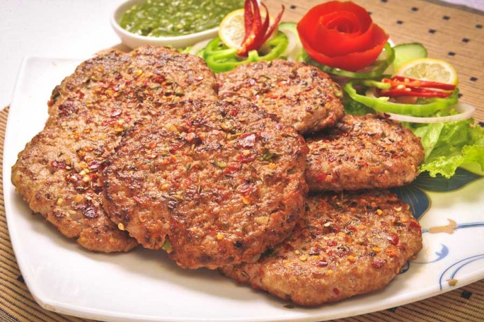 Chapli Kebab — a meat patty specialty of Punjab, and Pashto areas of Afghanistan and Pakistan. (Photo from Shutterstock)