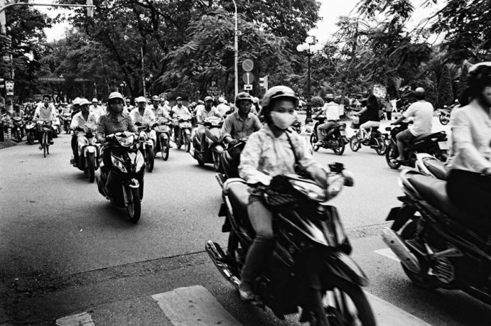 """Scooters in Haiphong, Vietnam, Seattle's 20th sister city. (Photo from Flickr by<a href=""""https://www.flickr.com/photos/hramirez/""""> HRamirez</a>)"""