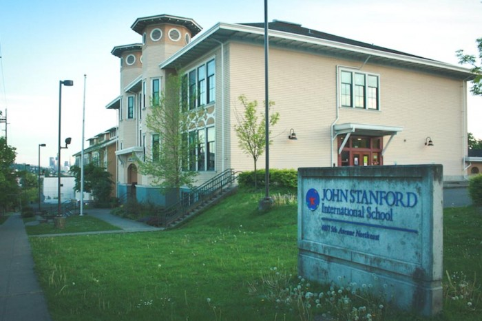 The John Stanford International School opened in 2000, and offers Japanese and Spanish language immersion. (Photo by Annaliese Davis)