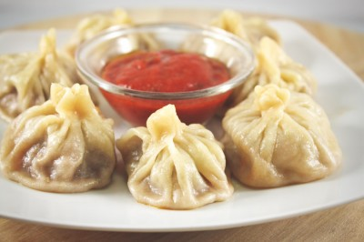 Momos — dumplings native to Nepal, Tibet, Bhutan and Northeast India. (Photo from Shutterstock)