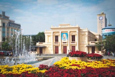 The Haiphong Opera House (Photo courtesy City of Haiphong)