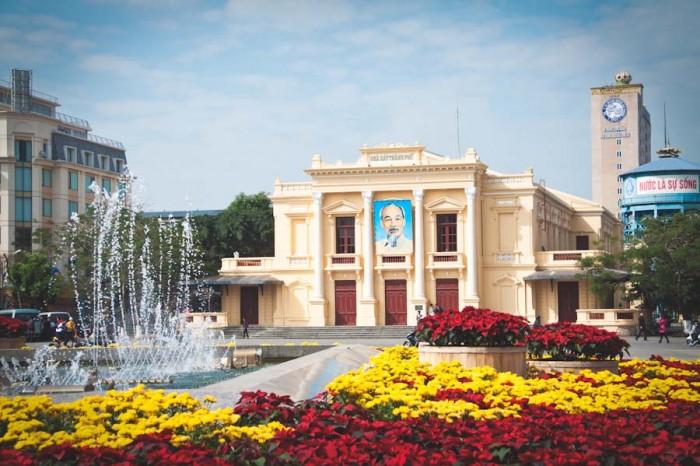 The Haiphong Opera House. (Photo courtesy City of Haiphong)
