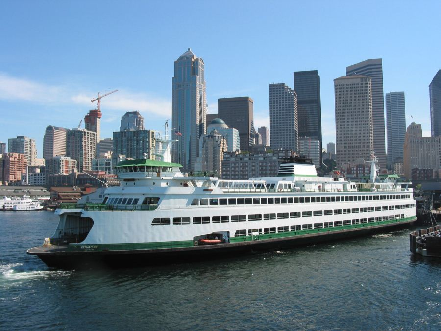 Ferry docking into downtown Seattle (Photo courtesy of Paul Schultz