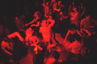 A Salsa night at Waid's back in 2008. (Photo via