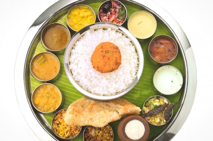 Thali — West India's version of the Bento Box. (Photo from Shutterstock)