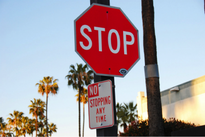 A stop sign is a basic rule of the road for guiding traffic. Photo courtesy of Madlyinlovewithlife bit.ly/1nvq5D1