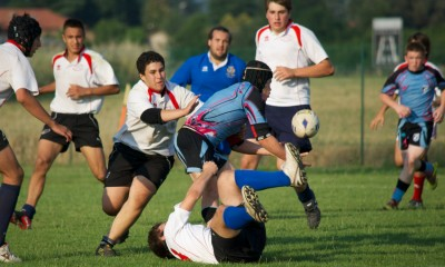 Traditionally played 15-on-15, a shorter 7-on-7 format of rugby will be played at the 2016 Olympics in Rio de Janeiro. (Photo by Stefano Delfrate)