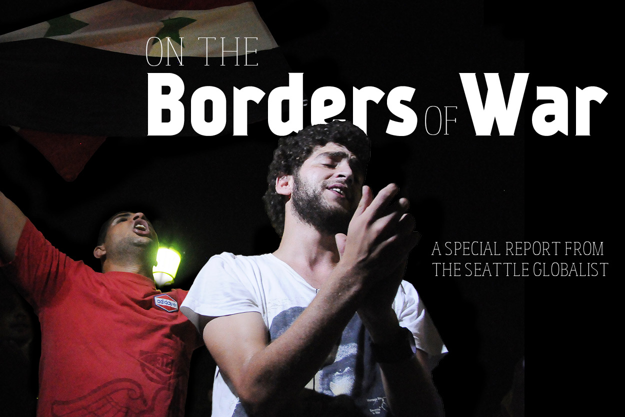 Borders of War Title Image