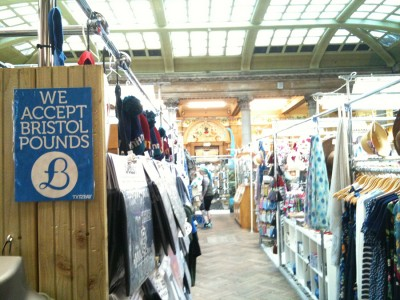 One of more than 650 businesses accepting the Bristol Pound. (Photo by Viviana Jimenez)