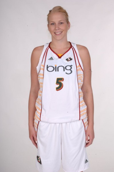 Abby Bishop (Photo courtesy of the Seattle Storm)