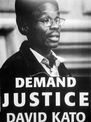 Ugandan LGBT rights activist David Kato Kisula was murdered in 2011 after being outed in a Ugandan magazine. (Photo courtesy IGLHRC)