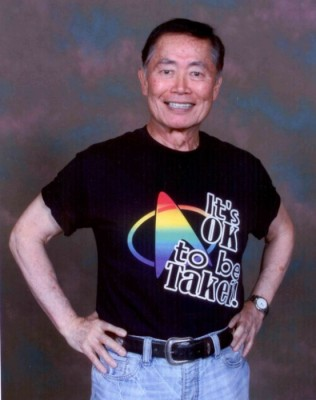 George Takei, Star Trek actor, author, and human rights activist, and Japanese Internment survivor,will serve as the grand marshall of Sunday's parade. (Photo courtesy Georgetakei.com)