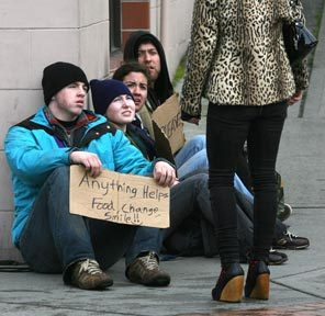 The most powerful country and the Homelessness...surprising, isnt it???