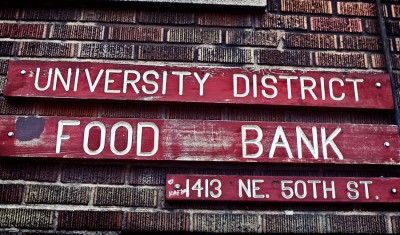 university District Food-Bank - one of the food banks in seattle.