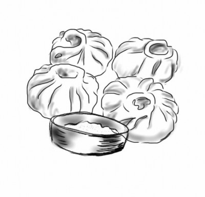 Momos (Illustration by: Saifullah Muhammad)
