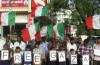 Demonstration for Gaza in Coimbatore, India. (Photo by Welfare Party via Flickr)
