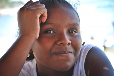 An Afro-Mexican girl from Guerrero. (Photo by Alejandro Linares Garcia