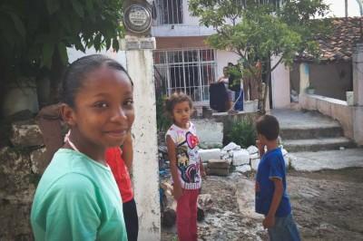Children in Coyoliyo. (Photo by Reagan Jackson)