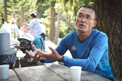 Lhakpa Gelu Sherpa describes being at the Everest base camp after the April avalanche that killed 16 guides. (Photo by Alex Stonehill)