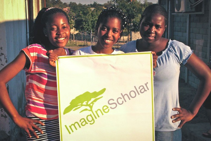 Imagine Scholars participants in South Africa. (Photo by Corey Johnson)