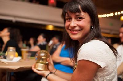 Anna Goren, 2013 Globie Award winner. (Photo by Lucas Anderson)