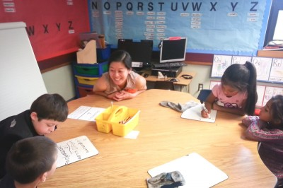 A bilingual classroom at Scenic Hill Elementary, in the Kent School District. (Photo courtesy OneAmerica)