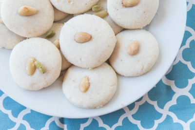 Iraqi Shakar Lama cookies, prepared by a Project Feast graduate. (Photo courtesy Project Feast)