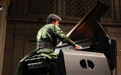 Pianist and composer Purevsukh Tyeliman. (Photo by Aida Solomon)