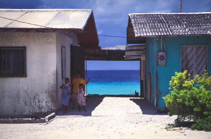 A beachside building in Majuro, capital of the Marshall Islands. (Photo by Mrlins from Flickr)