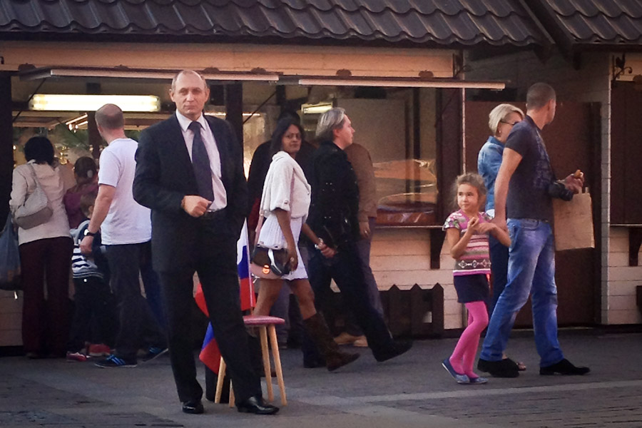 Don't tease the bear: Why we Russians love Putin more than