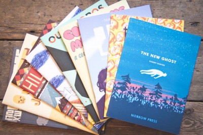 Selected titles from London's Nobrow Press. (Courtesy Photo)