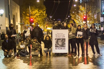 Seattle Ferguson Protest Photos