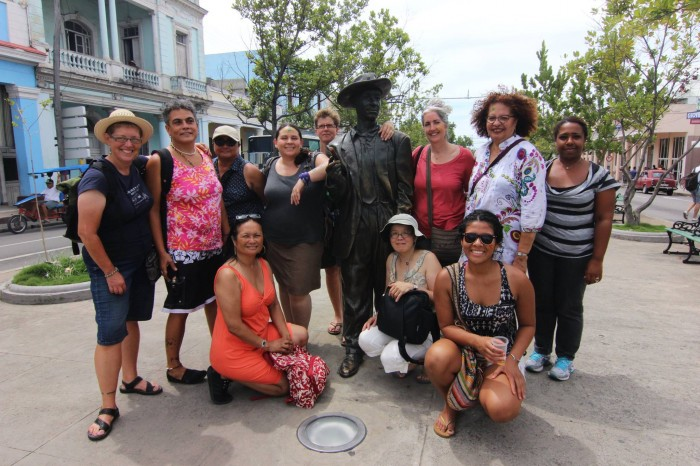 Delegates from Seattle in Cuba earlier this year as part of the U.S. Women and Cuba Collaboration. (Photo by Misa Shikuma.)