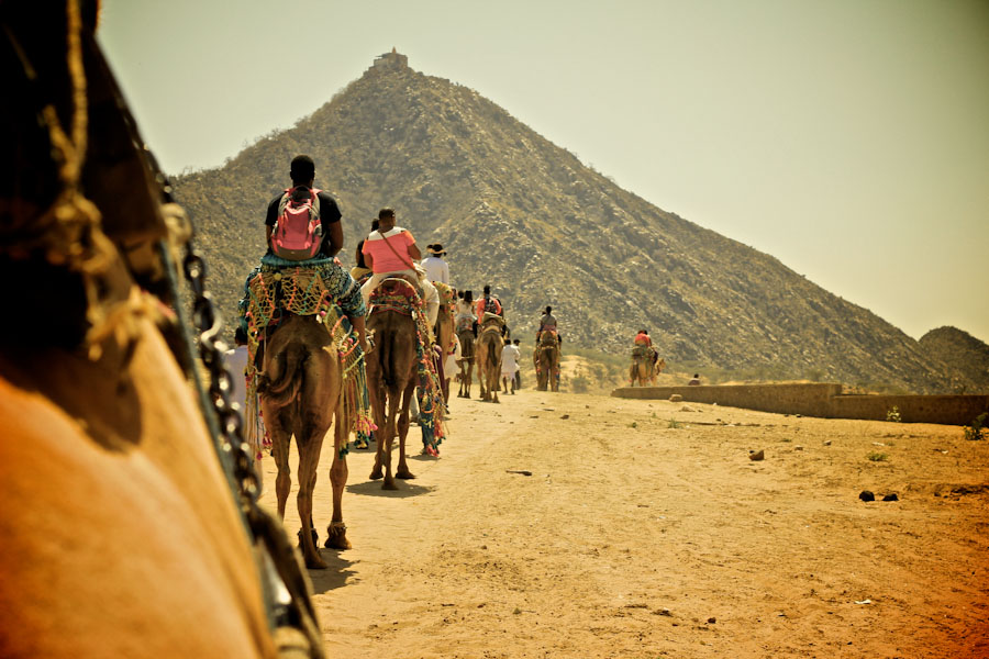 Nomadness travelers in Pushkar, India earlier this year. (Photo courtesy of Nomadness)