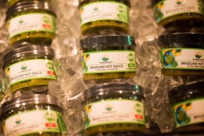 The Ribeiro family's Brazilian hot sauce tradition is now bottled for public consumption under their Samboroso brand. (Photo courtesy of Samboroso)