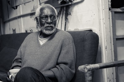 Former Black Panther Party leader flew to Hong Kong early this month to give testament to Black liberation movements in prison system. (Photo by Chong Kai Xiong)