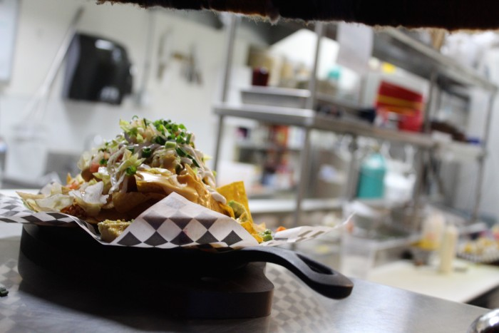 Nacho Borracho's menu will be undergoing major changes, but a version of the nachos will remain for those late night cravings. (Photo by Nicole Einbinder)
