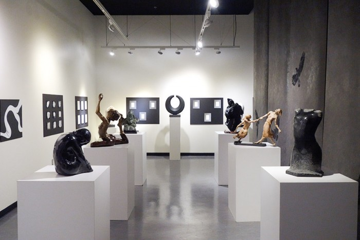 Please Touch is open through March 13that the Edmonds Community College Art Gallery. (Photo by Reagan Jackson)