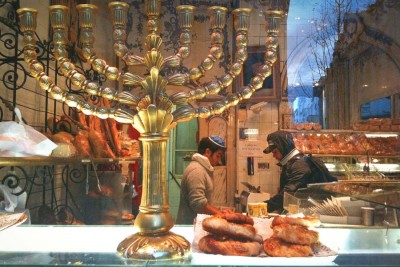 A Kosher bakery in Paris. France has the third largest population of Jews, after the U.S. and Israel, but after recent attacks, many are considering a new home. (Photo from Flickr by Donald Jenkins)