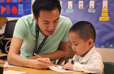 There is a lack of language programs for public school students in the international community. Students can study Spanish, French and German but there are no East African languages and very few Asian languages despite the fact that we have many speakers from those regions. The White Center Heights dual langauge Vietnamese program is one exception. (Photo by Ellen Banner / The Seattle Times)