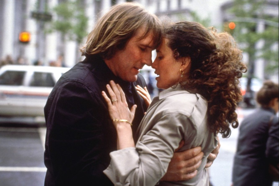 """1990 RomCom """"Green Card"""" depicted a French-American couple whose sham immigration marriage turned to true love."""
