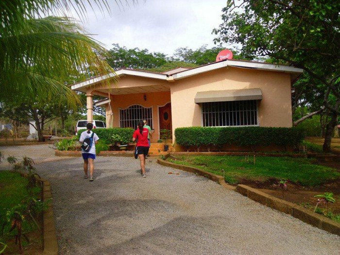 Josh McGrew, his two siblings, and his parents shared this one-story house on the outskirts of Managua, Nicaragua for four years while doing mission work. (Courtesy photo)